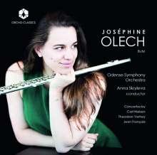 Josephine Olech spielt Flötenkonzerte, CD