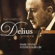 Frederick Delius (1862-1934): The Complete Delius Songbook Vol.1, CD