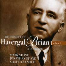 Havergal Brian (1876-1972): The Complete Havergal Brian Songbook Vol.1, CD