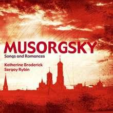 Modest Mussorgsky (1839-1881): Lieder & Romanzen, CD
