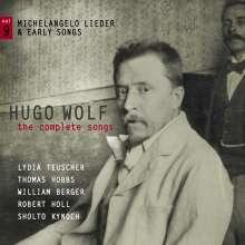 Hugo Wolf (1860-1903): Sämtliche Lieder Vol.9, CD