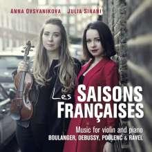 Anna Ovsyanikova - Les Saisons francaises, CD