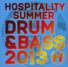 Hospitality Summer Drum & Bass 2013, CD