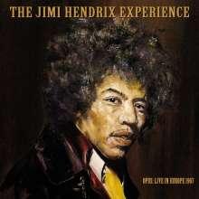 Jimi Hendrix: Live In Europe 1967, 3 CDs