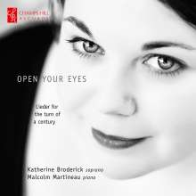 Katherine Broderick - Open your Eyes, CD