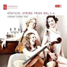 Julius Röntgen (1855-1932): Streichtrios Nr.1-4, CD