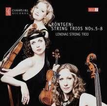 Julius Röntgen (1855-1932): Streichtrios Nr.5-8, CD