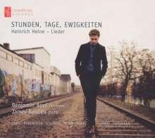 Benjamin Appl - Stunden, Tage, Ewigkeiten (Heinrich Heine-Lieder), CD
