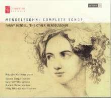 Felix Mendelssohn Bartholdy (1809-1847): Lieder Vol.3, CD
