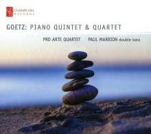 Hermann Goetz (1840-1876): Klavierquartett E-Dur op.6, CD