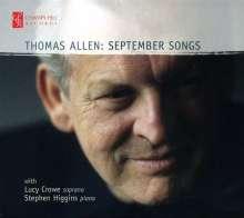 Thomas Allen - September Songs, CD