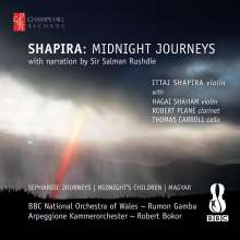 "Ittai Shapira (geb. 1972): Konzerte mit Violine ""Midnight Journeys"", CD"