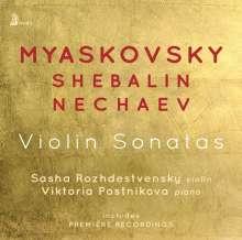 Sasha Rozhdestvensky - Violin Sonatas, CD