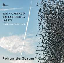 Rohan de Saram - Werke für Cello solo, CD