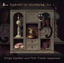 Kinga Ujszaszi & Tom Foster - Cabinet of Wonders Vol.1, CD