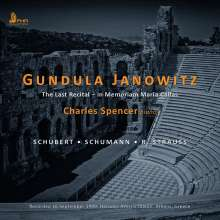 Gundula Janowitz - The Last Recitals, CD