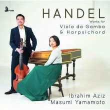 Georg Friedrich Händel (1685-1759): Werke für Viola da gamba & Cembalo, CD