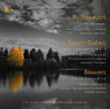 Johannes Brahms (1833-1897): Violinkonzert op.77 (180g), CD