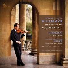 "Johann Joseph Vilsmayr (1663-1722): Partiten Nr.1-6 für Violine solo - ""Artificiosus Concentus Pro Camera"", CD"
