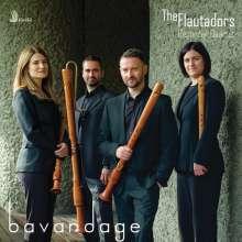 The Flautadors Recorder Quartet - Bavardage, CD