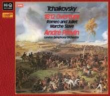 Peter Iljitsch Tschaikowsky (1840-1893): 1812 Ouvertüre op.49, XRCD