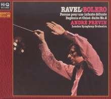 Maurice Ravel (1875-1937): Bolero, XRCD