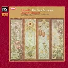 """Antonio Vivaldi (1678-1741): Concerti op.8 Nr.1-4 """"4 Jahreszeiten"""" (K2 Technology), XRCD"""