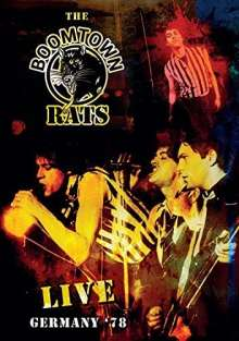 The Boomtown Rats: Live Germany '78 (DVD + CD), 1 DVD und 1 CD