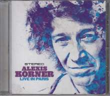Alexis Korner: Live In Paris 1976, CD