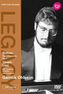 Johannes Brahms (1833-1897): Klavierkonzert Nr.2, DVD