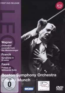 Boston Symphony Orchestra & Charles Munch, DVD