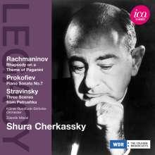 Shura Cherkassky, CD