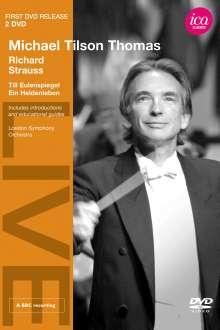 Michael Tilson Thomas dirigiert Richard Strauss, 2 DVDs