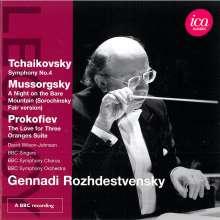 Gennady Roshdestvensky, CD