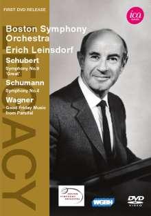 Boston Symphony Orchestra & Erich Leinsdorf, DVD