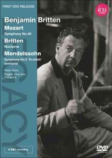 Benjamin Britten, DVD