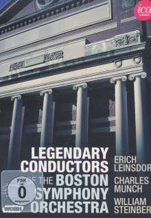 Legendary Conductors of the Boston Symphony Orchestra, 5 DVDs
