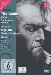 Tito Gobbi - 100th Anniversary Edition, DVD