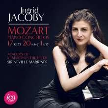 Wolfgang Amadeus Mozart (1756-1791): Klavierkonzerte Nr.1,17,20, CD