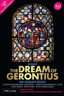 Edward Elgar (1857-1934): The Dream of Gerontius op.38, 2 DVDs