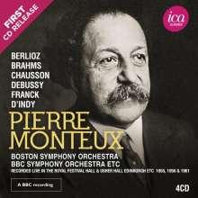 Pierre Monteux dirigiert, 4 CDs