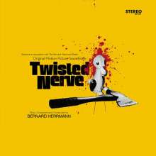Bernard Herrmann (1911-1975): Filmmusik: Twisted Nerve (180g) (Super Deluxe Yellow Edition) (Blood Splattered Vinyl), LP