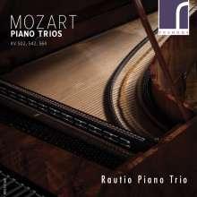 Wolfgang Amadeus Mozart (1756-1791): Klaviertrios Nr.2,3,5 (KV 502,542,564), CD