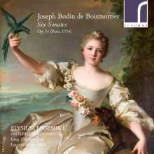 Joseph Bodin de Boismortier (1689-1755): Sonaten op.51 Nr.1-6, CD