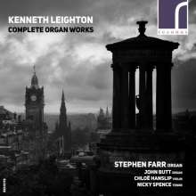 Kenneth Leighton (1929-1988): Sämtliche Orgelwerke, 3 CDs