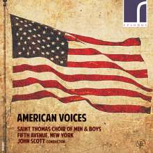 Saint Thomas Choir of Men & Boys Fifth Avenue New York - American Voices, CD