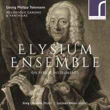 Georg Philipp Telemann (1681-1767): Sonaten Nr.1-6 für Flöte & Violine, CD