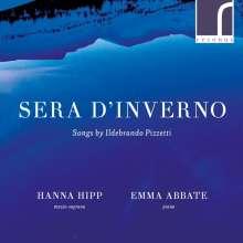 Ildebrando Pizzetti (1880-1968): Lieder, CD