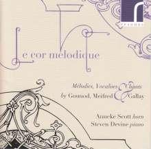"""Musik für Horn & Klavier """"Le cor melodique"""", CD"""