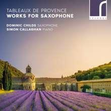 """Musik für Saxophon & Klavier """"Tabelaux De Provence"""", CD"""